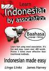 Learn Indonesian by Association - Indoglyphs: The Easy Playful Way to Learn a New Language. by James S Harvey (Paperback / softback, 2014)