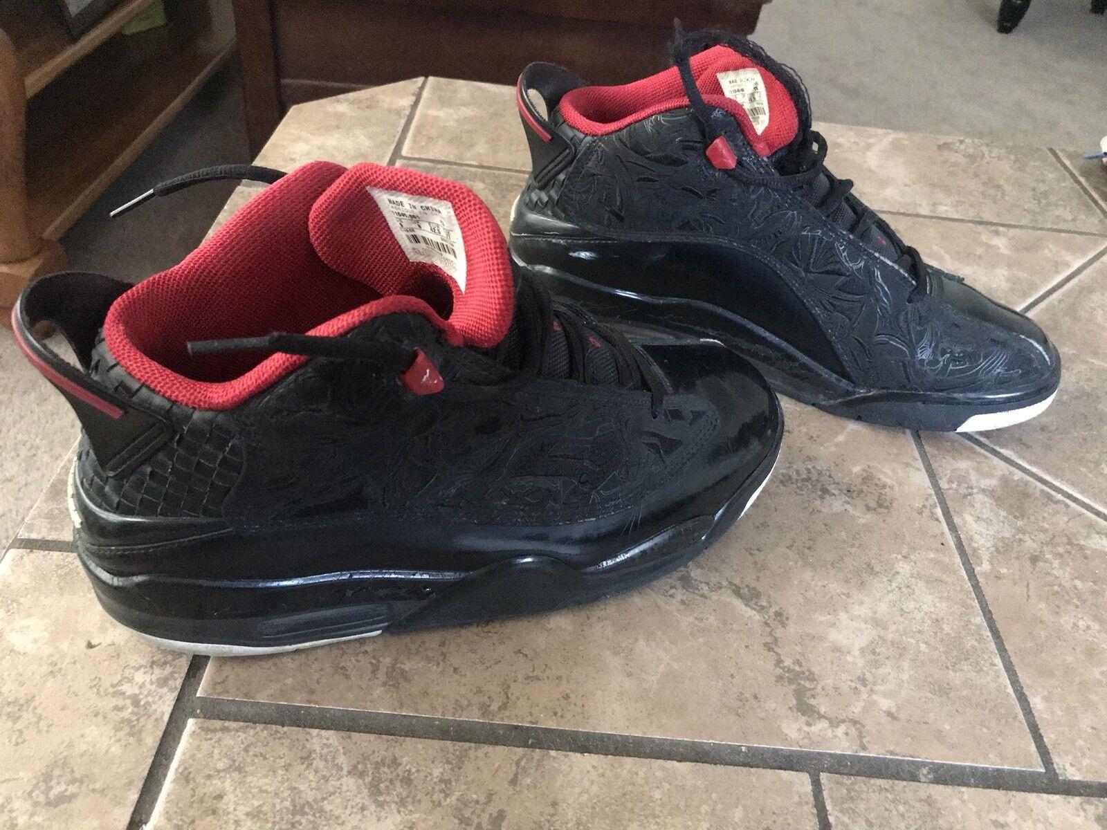2018 Nike Air Jordan Dub Zero Black Red Bred
