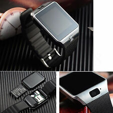 Fashion Men Wrist Bluetooth Smart Watch Sim Phone For Android Samsung Galaxy S7