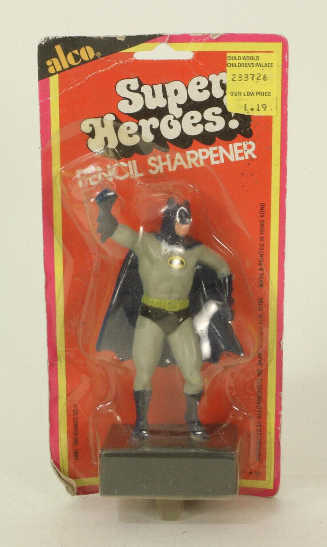 Vintage Alco Super Heroes  Pencil Sharpener Batuomo MOC