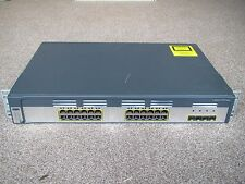 Cisco WS-C3750G-24TS-E Switch 24x Gigabit Ports + 4x SFP 122-53 IPServices