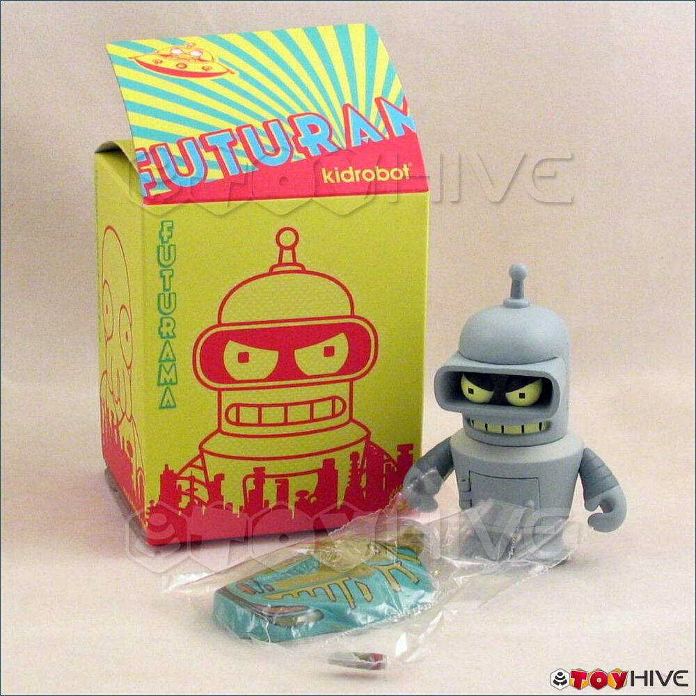 Kidrobot Futurama collection vinyl figure Bender opened to identify series series series 1 91dc23