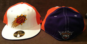 best sneakers 5d7ac 551fe Image is loading Phoenix-Suns-New-Era-59FIFTY-NBA-Logo-Fitted-
