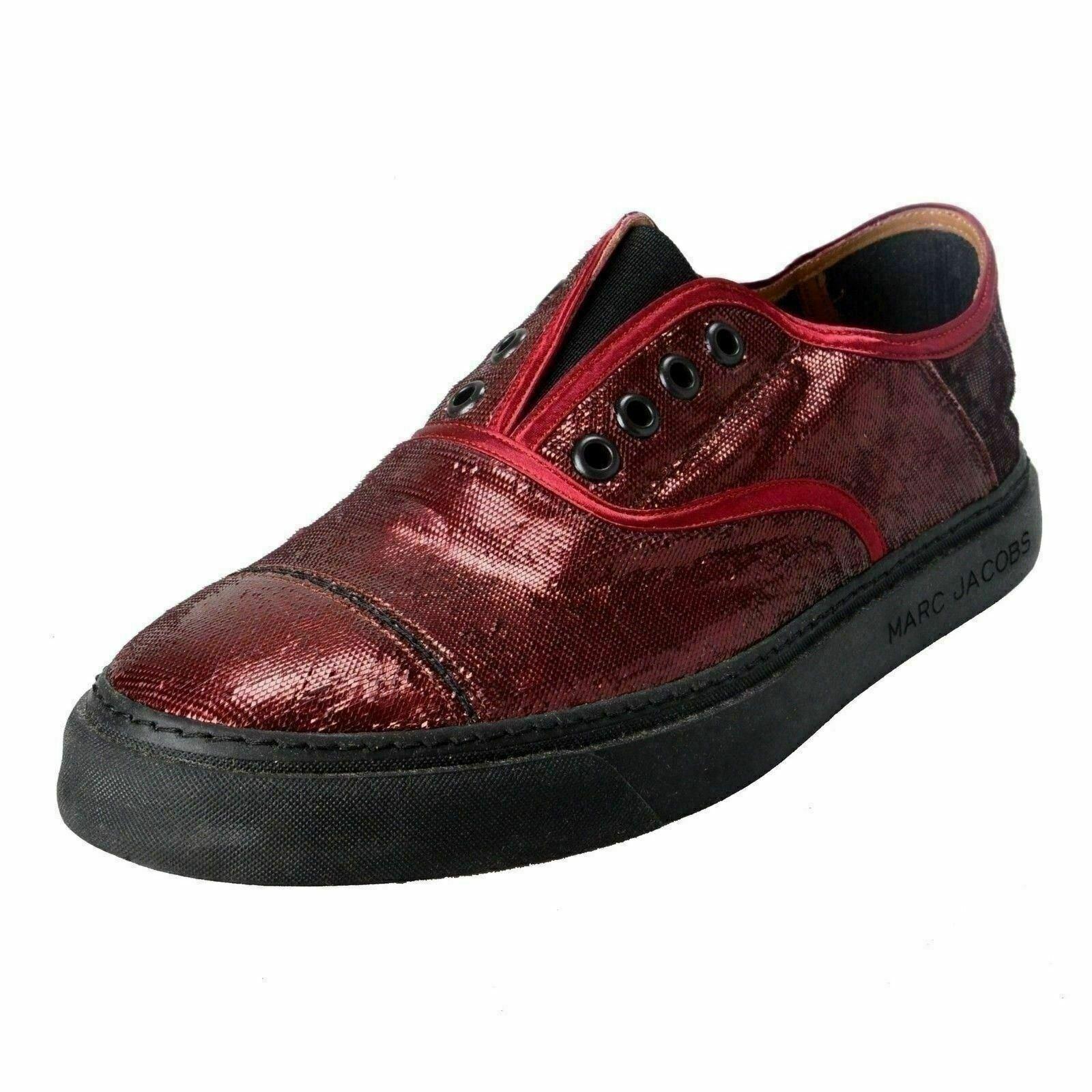 Marc Jacobs Men's Vine Sparkle Leather Loafers Slip On shoes US 10 IT 9