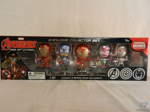 Marvel Avengers Age of Ultron Original minis 2015 San Diego comic-con Exclusive Collector Set
