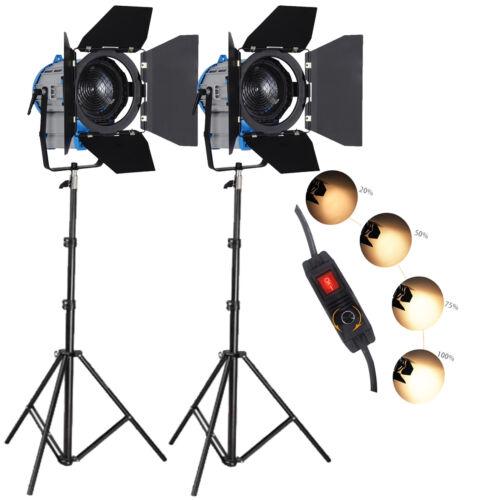 FSKIT300A 300W dimmer película Fresnel tungsteno foco iluminación Studio Video B