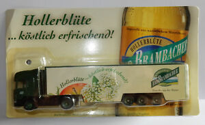 GRELL-HO-1-87-CAMION-SEMI-TRUCK-TRAILER-SCANIA-420-BAD-BRAMBACHER-JUS-DE-POMMES