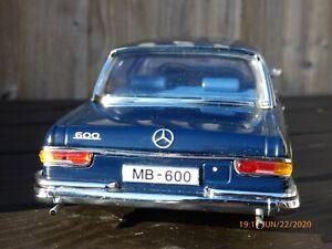 Rara-Edicion-Limitada-Azul-Sun-Star-1-18-Grosser-King-Mercedes-Benz-600-Coche-de-juguete