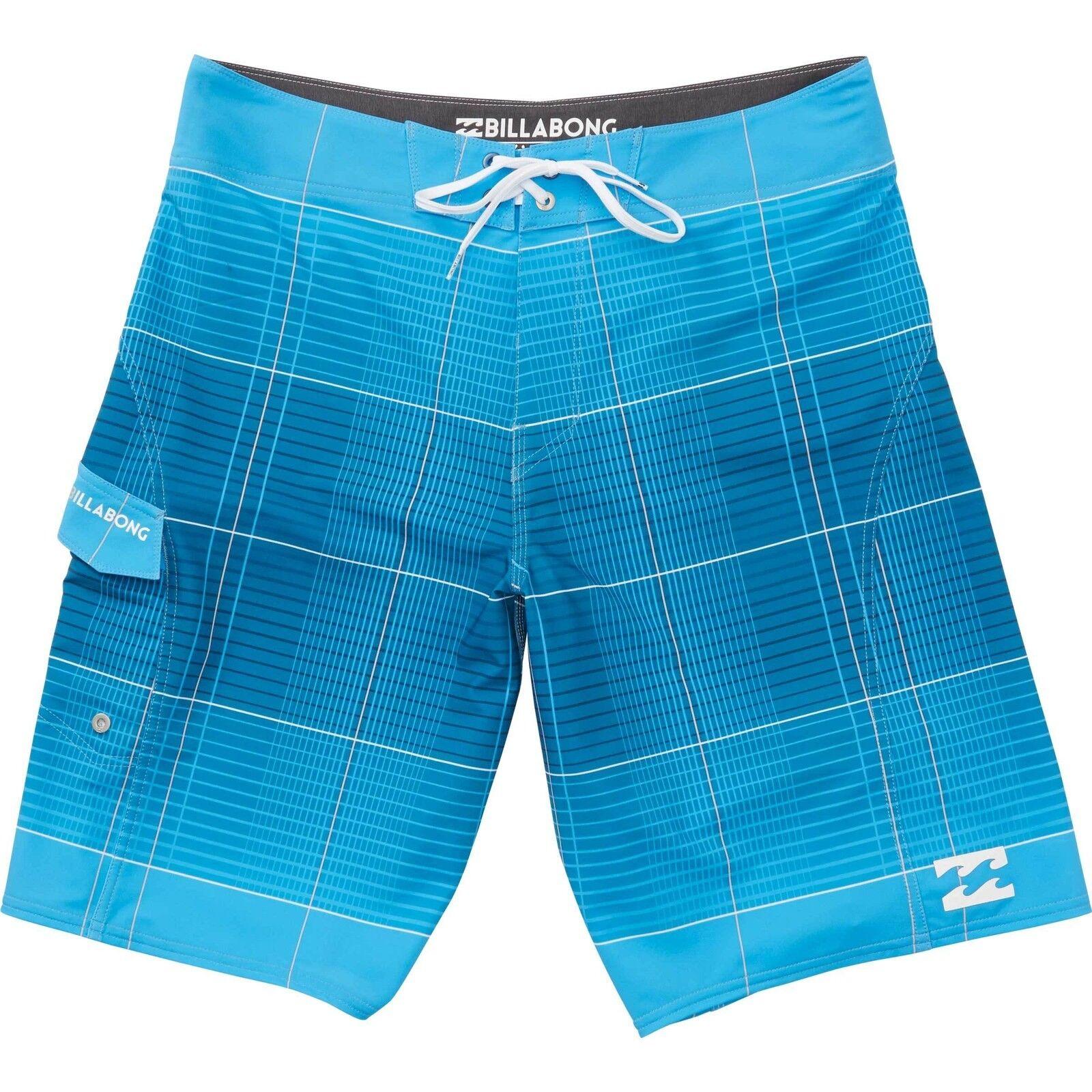 3f5157ea21bbb Billabong Men All Day X Plaid bluee Platinum X Boardshorts Swimwear Sz 32  21 nwlqjp1436-Swimwear