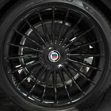 "BMW F01 F02 7 Series 2009+ Alpina OEM Classic Black 21"" B7 Wheel & Hub Set NEW"