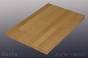 Tischplatte 26mm Buche Massivholzplatte Holzplatte 60 220cm Lange Ebay