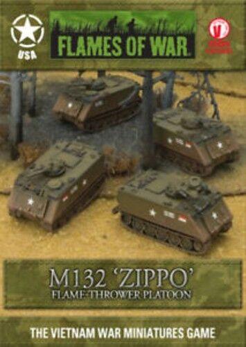 tienda en linea Flames of War M132  Zippo  Vietnam Vietnam Vietnam Usa VBX08 Nuevo  tienda