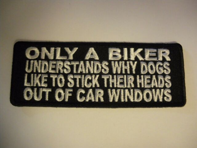 Only a biker understands..... Patch Sew/Iron - Rider biker Men's Shed Motorcycle