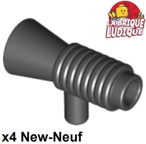 Lego 4x Minifig utensil Loudhailer Megaphone SW Blaster noir//black 4349 NEUF