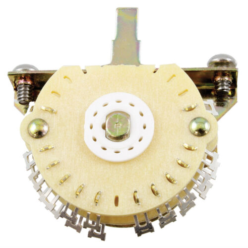 5-Way Super Mega Switch for Strat Double Wafer Guitar NEW  Oak Grigsby 4-Pole