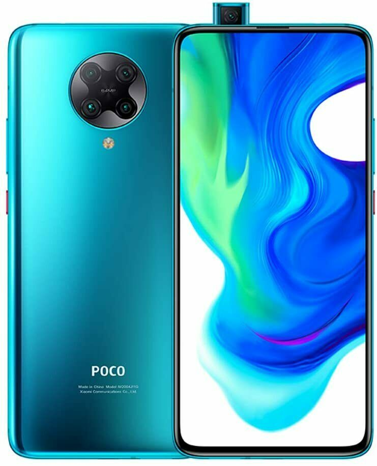 xiaomi: Smartphone Xiaomi Poco F2 Pro 5G 8/256GB BLUE BLU VERSIONE GLOBAL Display 6,67″