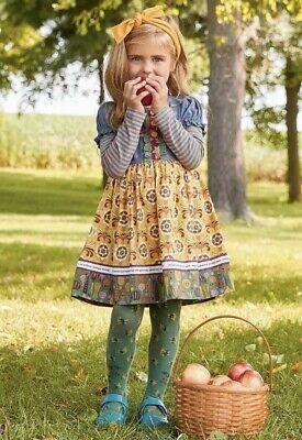 Matilda Jane Harvest Time Dress Girls Size 6 8 10 New In Bag Choose Your Path