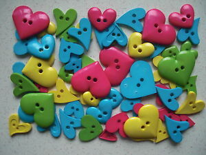 Bright-heart-shaped-buttons-mixed-sizes-mixed-colours-50-grams