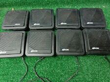 GE Ericsson MACOM Orion M7100 Mobile Radio Speakers cut cords, No Bkts Lot 8 #4
