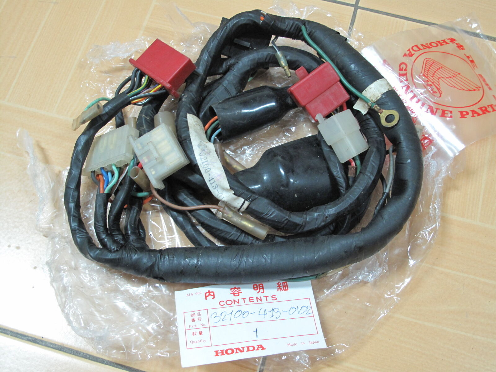 78 Honda Cb400t Cb 400 T Hawk Oem Main Wire Harness Electrical 1978 Cb550 Norton Secured Powered By Verisign