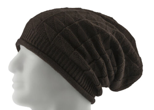 Long Beanie Mütze XXL Damen Herren Kinder Unisex Mützen Winter 4 Muster