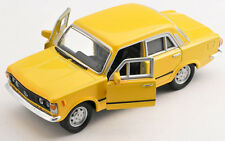 BLITZ VERSAND Fiat 125 p gelb / yellow Welly Modell Auto 1:34 NEU & OVP