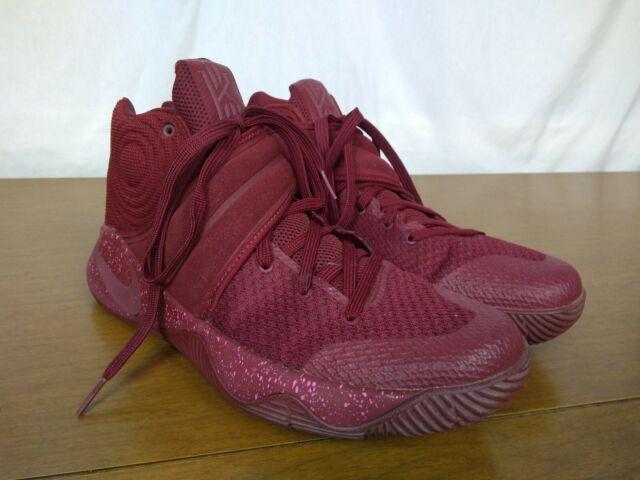 brand new 4bdff 21025 Nike Air Kyrie 2 Maroon Velvet Sz 10.5 Basketball Shoe 819583 600 Kyrie  Irving