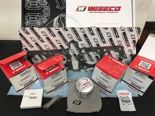 WISECO K836 Forjado Grande Bore 836cc Pistón Kit Honda CB750 SOHC Dragbike