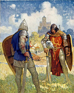 Painting King Arthur Art