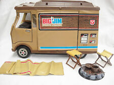 Big Jim Sports Camper with Accessories Original Box & Instructions Mattel 1972