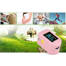Portable Finger Pulse Oximeter 30 250bpm O2 Saturation Monitor Easy To Read