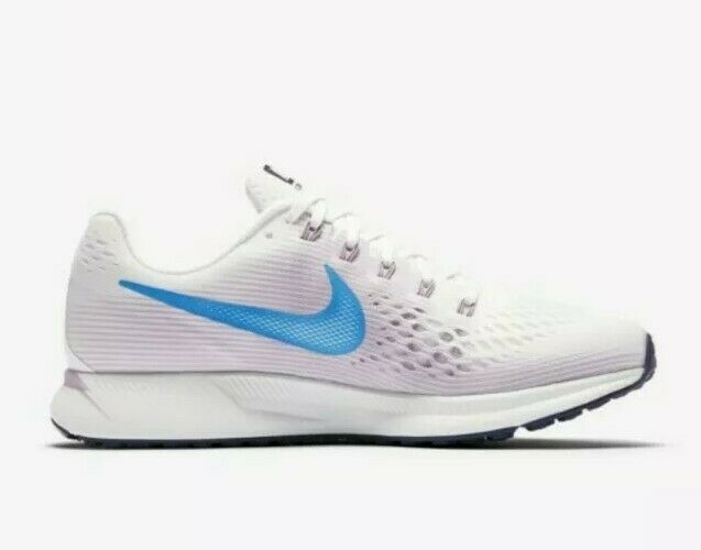 Nike Wmns Air Zoom Pegasus 34 Uk 5 Summit White Equator bluee 880560 105 Bnib Run