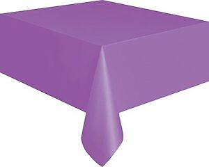 Foil Green Plastic Tablecloth  9ft x 4.5ft NEW