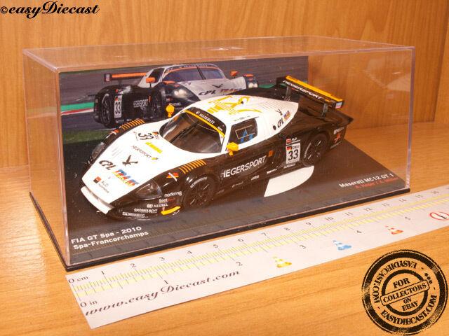MASERATI MC12 GT -1 -HEGER -MULLER -1 43 FIA GT SPA 2010