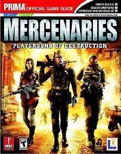 Mercenaries Playground of Destruction - Prima Official Game Guide Magazine Book