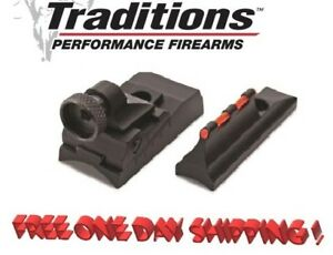 Traditions Peep Sight Fiber Optic For Non Tapered Barrels New! # A1576