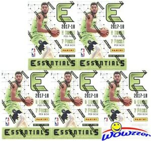 5-2017-18-Panini-Essentials-Basketball-EXCLUSIVE-Factory-Sealed-Blaster-Box