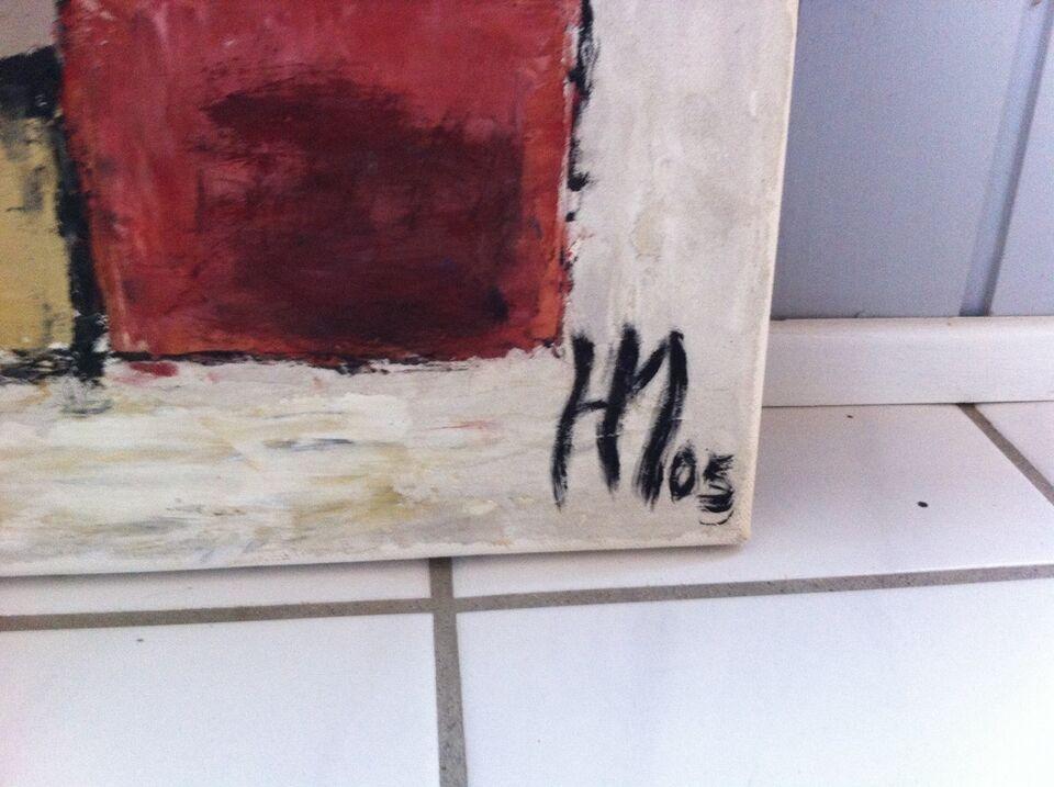 Akrylmaleri, b: 100 h: 50
