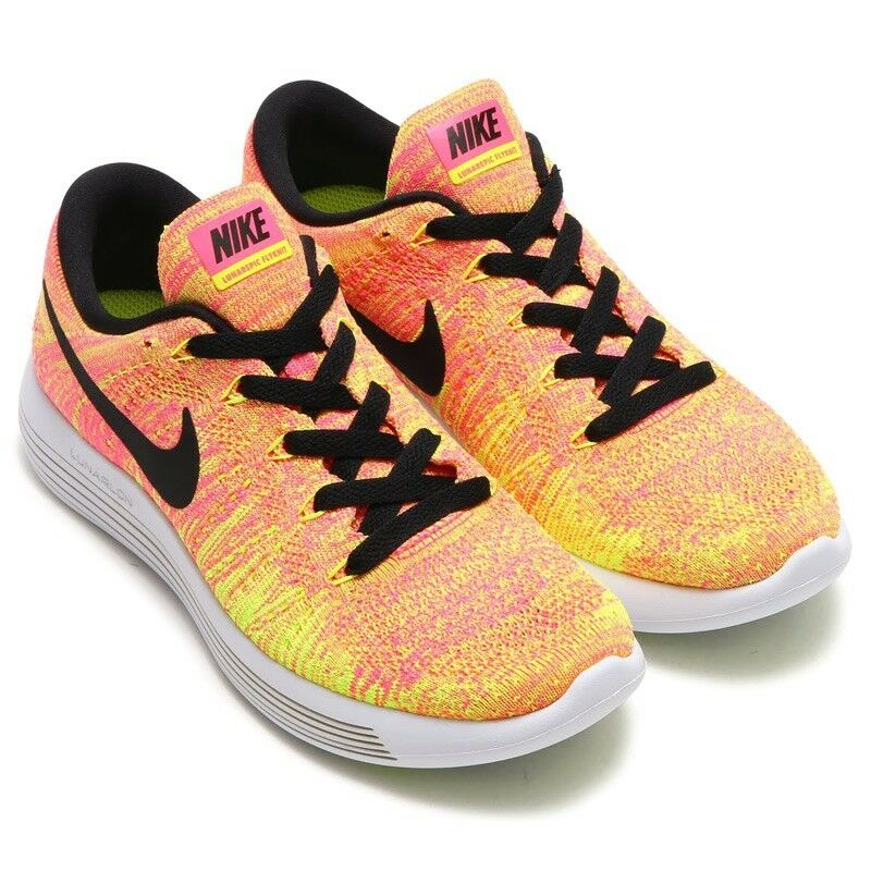 Nike femmes LunarEpic Low Flyknit Multicolour Running Trainers4.5 EUR 38