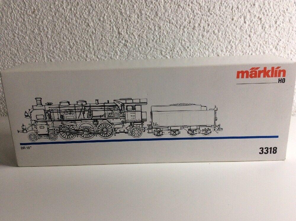 Märklin Modellleisenbahn H0 Tender - Lok   BR 18.4. 3318