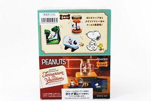 Re-ment Snoopy /& Woodstock Happy terrarium 6 pcs Figure Complete BOX Japan F//S