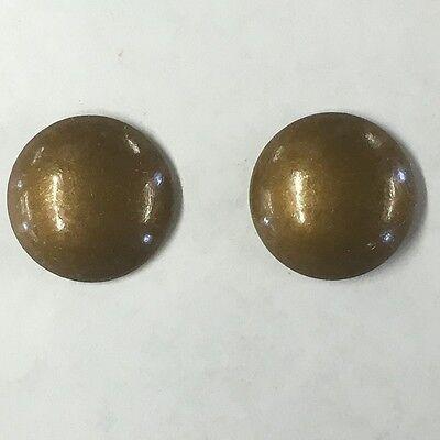 """25-50-100-250-500 5//8/"""" French Natural Decorative Nail Upholstery Tacks US119"""