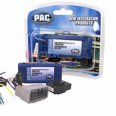 PAC C2R-CHYNA Radio Replace Interface Adapter for Dodge/Chrysler/Jeep w/CAN-Bus