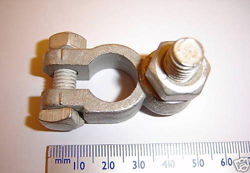 Negativo de la batería terminal con M10 perno y tuerca bt463n