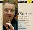 """Francis Poulenc: Stabat Mater; Les Biches (CD, Jan-2013, H""""nssler Classic)"""