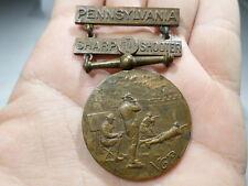 1911 1915 NGP 28th Infantry Division Sharp Shooter Badge Pa National Guard Tener