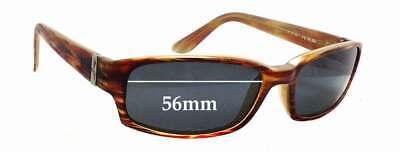 SFX Replacement Sunglass Lenses fits Maui Jim Gulch MJ324 65mm Wide 39mm Tall