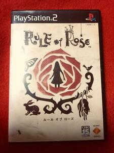Rare-Used-Excellent-SONY-PLAYSTATION-2-PS2-Rule-of-Rose-Horror-Game-Japan-F-S