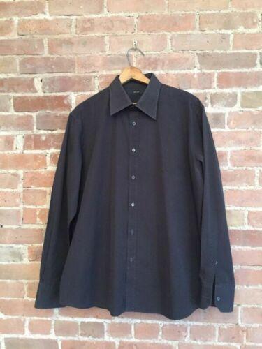 Vintage Gucci Shirt 43/17 Brown Tom Ford Era