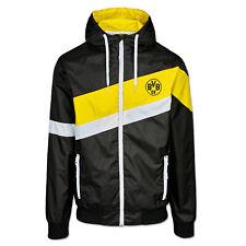 BVB-Windbreaker Schwarz Borussia Dortmund [ORIGINAL]